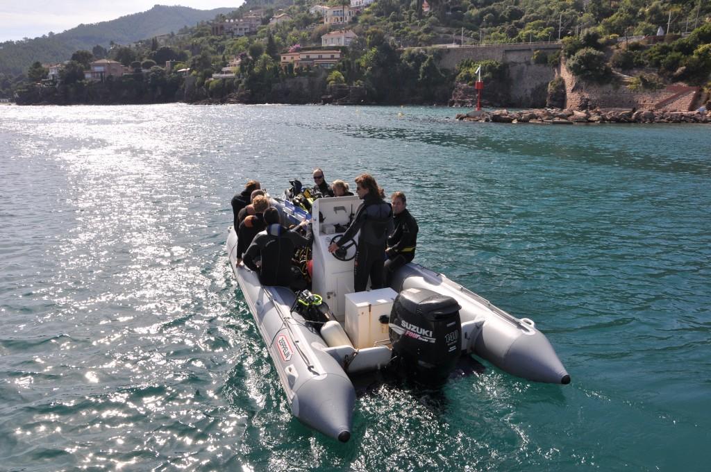 Aramis support de plongée centre de plongée de la Rague