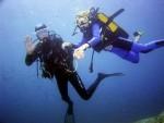 plongeurs en batême