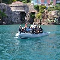 Aramis bateau support plongée Centre de plongée de la Rague