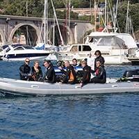 Aramis bateau centre plongée la Rague