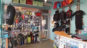 magasin matériel de plongée